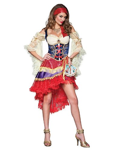 Elite Good Fortune Teller Sexy Gypsy Costume