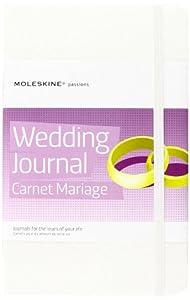 Moleskine PHWD3A Passion-Journal Hochzeit Large, Hardcover mit Prägung schwarz