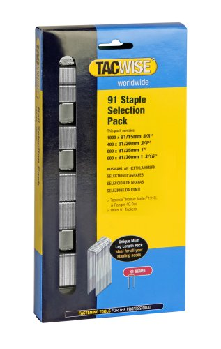 Tacwise 91 STAPLE SELECTION PACK
