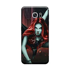 Ebby Premium Printed Back Case Cover With Full protection For Samsung Galaxy S7 Edge (Designer Case)
