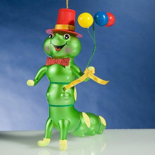 De Carlini CATERPILLAR WITH BALLS A5681 Ornament Bug Balloons New
