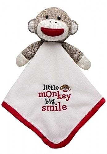 Little Monkey Big Smile Sock Monkey Lovey (Baby Starters Lovey compare prices)