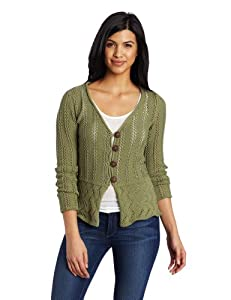 Royal Robbins Women's Traveler Sweater, Aloe, X-Small