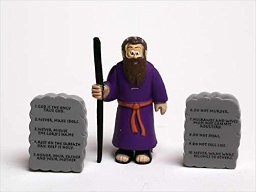 Toy - Action Figure - Beginners Bible - Moses And Commandments