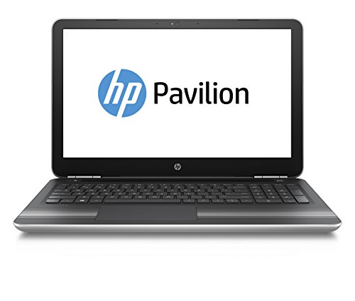 HP Pavilion (15-bc004ng) 39,6 cm (15,6 Zoll FHD IPS Display) Notebook (Intel Core i5-6300HQ, 8GB RAM, 256GB SSD, Nvidia GeForce GTX 950M-Grafikkarte, Windows 10) silber/schwarz