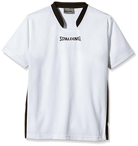 Spalding, Maglietta a maniche corte Uomo, Bianco (Weiß), XXXL