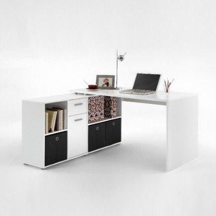 Computertisch computerschreibtisch ecktisch büro weiß kinderzimmer