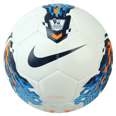 Nike Total 90 Premier League Strike Football 2011 White/Blue/Orange Size 4