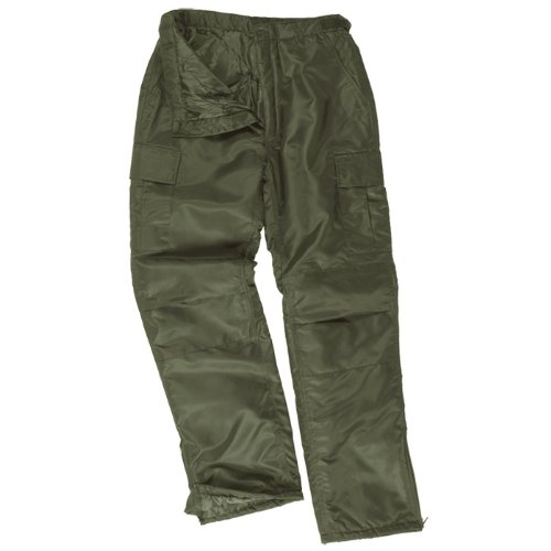 US MA1 Cargo Army Thermal Winter Mens Combat Trousers Olive