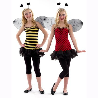 Buggin' Out Teen Costume (Girl's Children's Costume)