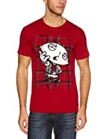 Men's Family Guy Anarchy Red Men's T-shirt Red