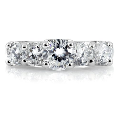 Tilly's 5 Stone CZ Anniversary Ring