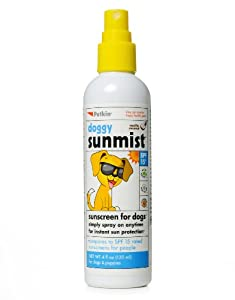 Petkin Doggy Sunmist Sunscreen for Dogs & Puppies 120ml from Petkin