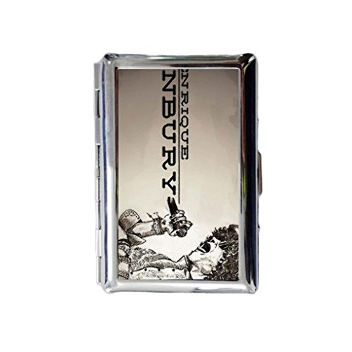 Enrique Bunbury Custom Cigarettes Case?Silver Credit Card Protective Security Wallet,useful case box (Bunbury Box Set compare prices)