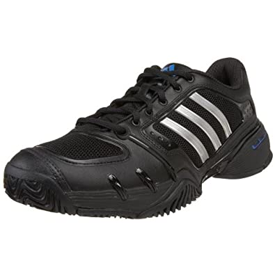 Amazon.com: adidas Men's Team Competition Tennis Shoe, Black/Metallic