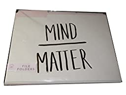 Roobee Folders Mind/Matter, Today I Choose Joy, Make Beautiful Things (9 count)