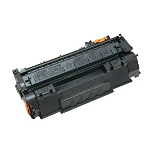 Amsahr Remanufactured Toner Cartridge Replacement for HP CB435A (Black)