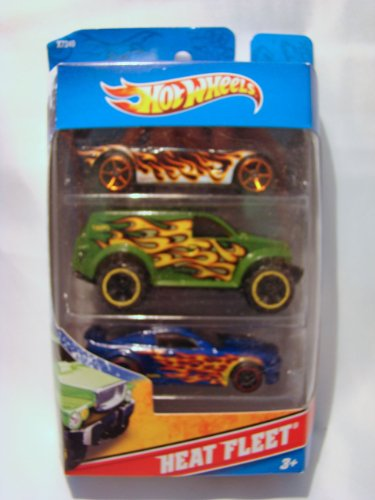 Hot Wheels Heat Fleet 3 Car Pack: MS-T Suzuka - Power Panel - 2009 Ford F-150