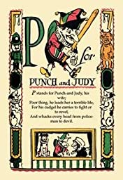12 X 18 Stretched Canvas Poster P for Punch and Judy