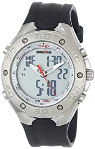 Timex Men's T5C5519J Ironman Combo Twincept Resin Strap Watch