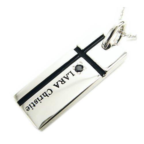 (ララクリスティー) LARA Christie ララクリスティー LARA Christie ノーブル クロス ネックレス [ BLACK Label ブラックレーベル] P3051-B