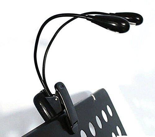 LED ライト 照明 クリップ ライト 黒 読書灯 クリップ付き LED ライト パソコン LEDライト 多目的 USD ランプ 電源コード 譜面台ライト 4段明度調節 hyt-32