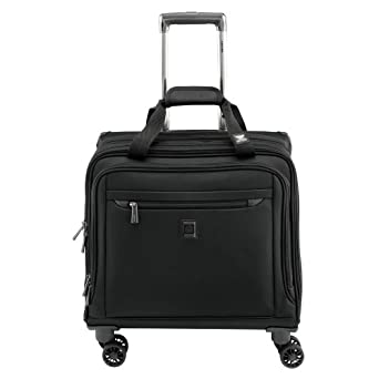 delsey luggage helium x 39 pert lite 2 0 spinner trolley tote black one size clothing. Black Bedroom Furniture Sets. Home Design Ideas