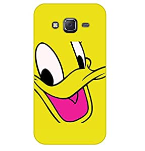 Happoz Samsung Galaxy J2 (J210) (2016) Cases Back Cover Mobile Pouches Shell Hard Plastic Graphic Armour Premium Printed Designer Cartoon Girl 3D Funky Fancy Slim Graffiti Imported Cute Colurful Stylish Boys D380