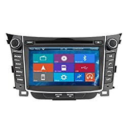 See Crusade Car DVD Player for Hyundai I30 2012- Support 3g,1080p,iphone 6s/5s,external Mic,usb/sd/gps/fm/am Radio 7 Inch Hd Touch Screen Stereo Navigation System+ Reverse Car Rear Camara + Free Map Details