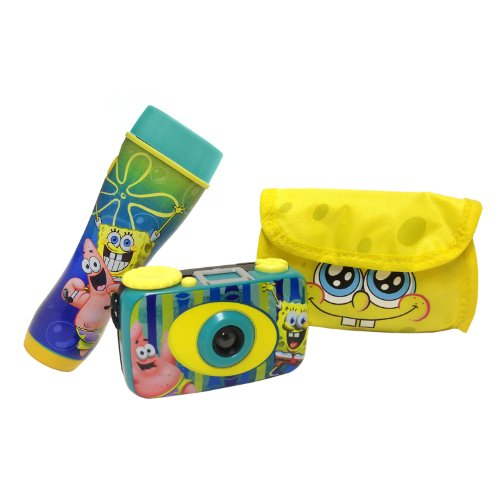 Nickelodeon SpongeBob SquarePants Flashlight & Camera Kit - 1
