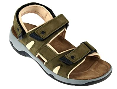 FIRE Womens Comfort Walking Sandals, Licensed by Birkenstock (8 US Womens /EU 39, Olive)