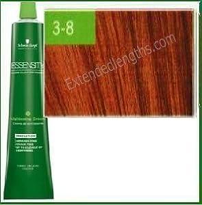 Schwarzkopf Essensity Permanent Hair Color - 3-8 Dark Red Brown