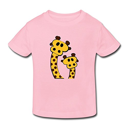 Two Lovely Giraffes Funny Personalized Toddler T-Shirt front-1035522