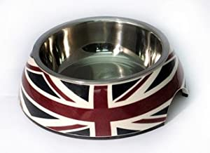 Dogit Union Flag 2-in-1 Dog/ Cat Bowl, 350ml