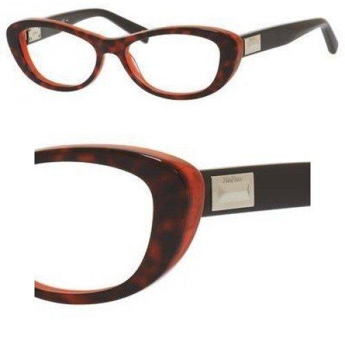 Max MaraMAX MARA Eyeglasses 1172 0D1g Havana Coral / Brown 52MM