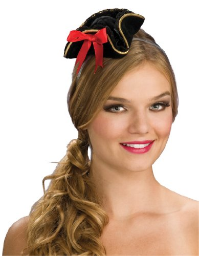Rubie's Costume Women's Mini Buccaneer Hat, Multi, One Size