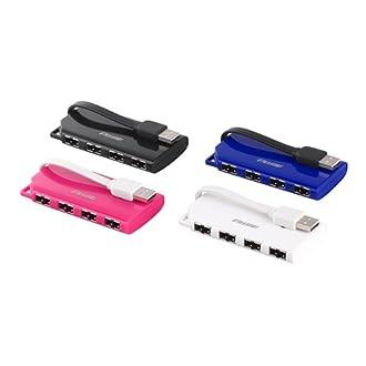 iBUFFALO USBハブ バスパワー 4ポート BSH4U17BK