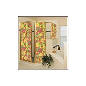 "New - Mandalay 24"" x 37"" Privacy Stained Glass Window Film by Wallpaper For Windows"