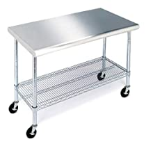 Stainless Steel Work Table - 49