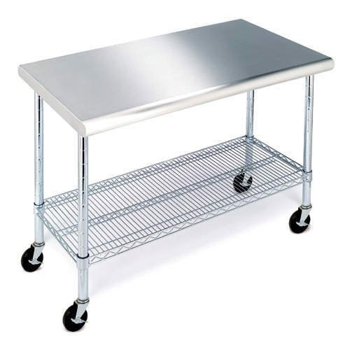 Stainless Steel Work Table – 49″