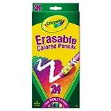 Crayola 24ct Erasable Colored Pencils