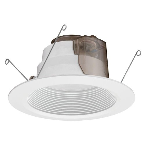 Lithonia Lighting 6 In. High Ceiling Recessed White Led Baffle Downlight