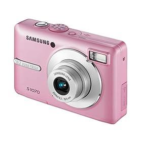 Samsung S1070 Digital Camera - Pink 2.7'' LCD: Amazon.co.uk: Electronics & Photo