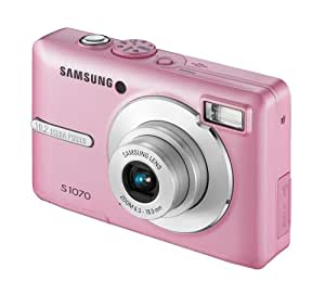 Samsung S1070 Digital Camera - Pink (10MP, 3x Optical Zoom) 2.7 inch LCD