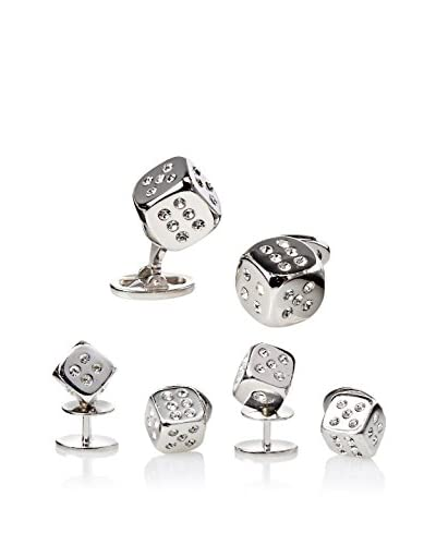 Jan Leslie Dice Cufflinks & Studs Set