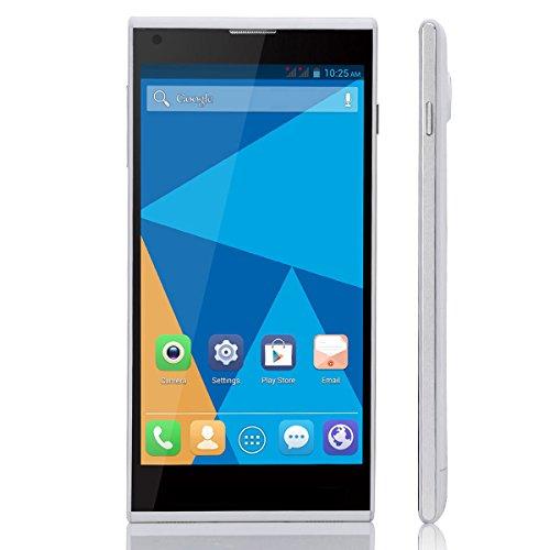 Doogee Dagger Dg550 Mtk6592 Octa Core 1.7Ghz Andriod 4.2.9 Phone 5.5 Inch Ips Ogs 1280*720 1Gb Ram 16Gb Rom 13.0Mp Gps Smart Phone (White)