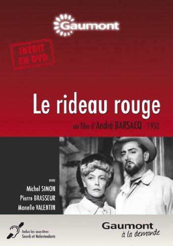 Le rideau rouge [Edizione: Francia]