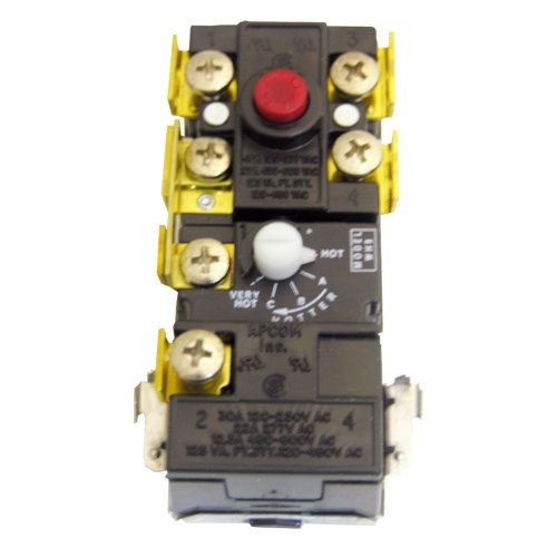 Lasco 40-1639 Thermo Disc Brand Electric Thermostat For Single Element Water Heater