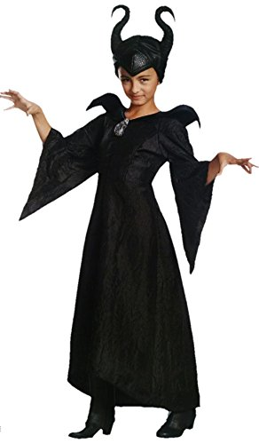 Disney Maleficent Deluxe Christening Gown & Headpiece Child Costume