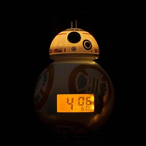 Bulb Botz Star Wars - BB-8TM Light Up Alarm Clock by Bulb Botz